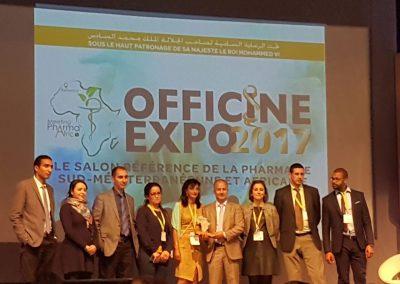 Officine Expo 2017 : prix du stand le plus accueillant